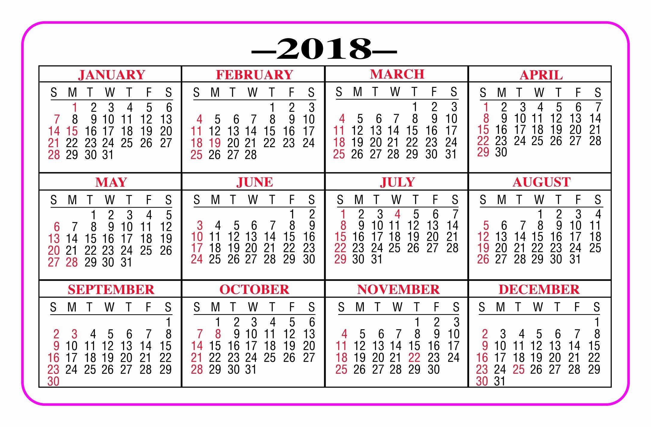 Pin On Printable Calendar 2019