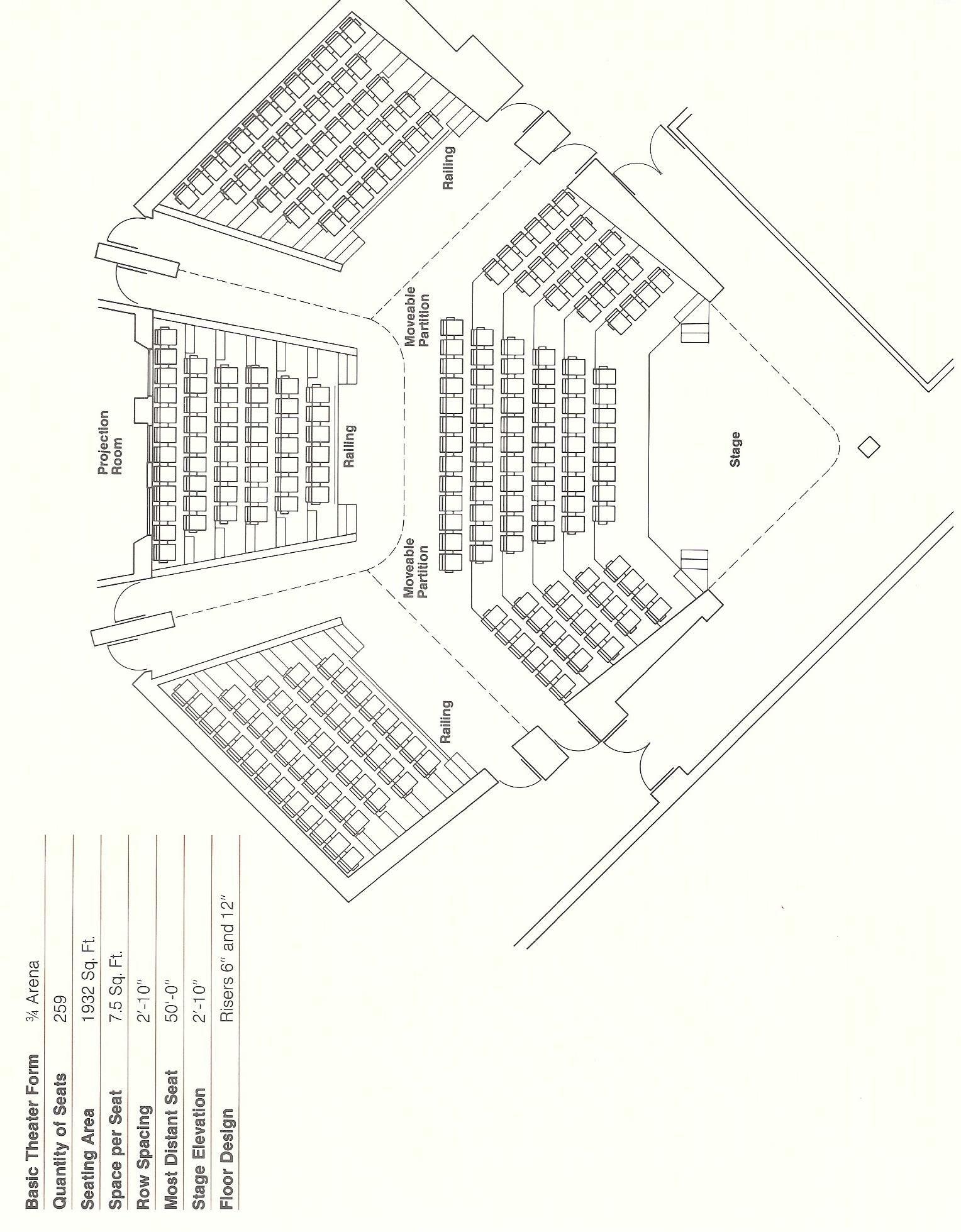 Pinchen Tt On Auditorium & Fixed Seating Layout