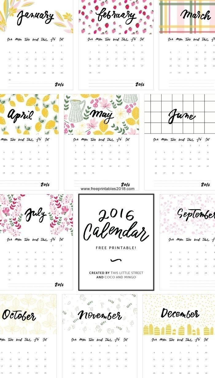 Print Calendar No Download In 2020 | Free Printable Calendar