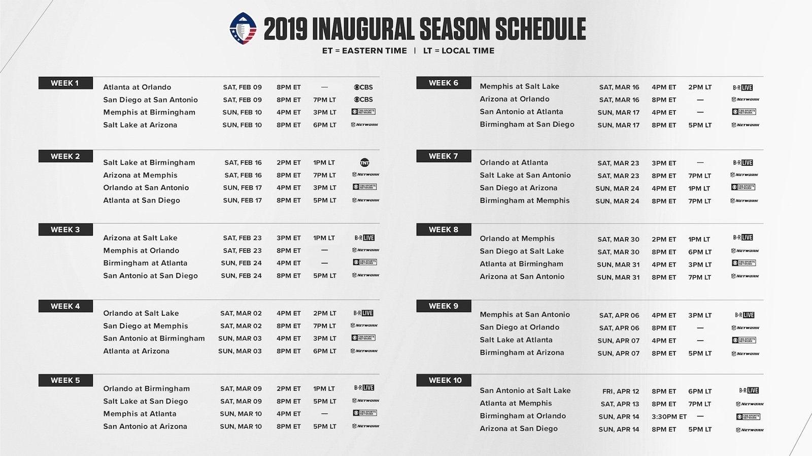 Printable Nfl Schedule For 2019 2020 In 2020   Printable Nfl within Nfl Schedule 2019 2020 Season Calendar