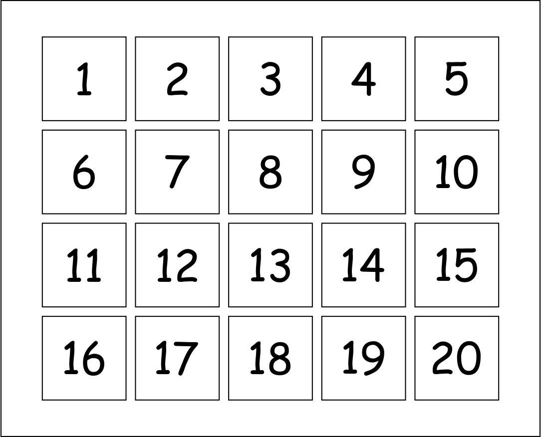 Printable Number Templates Free Printable Numbers 1-30 Free