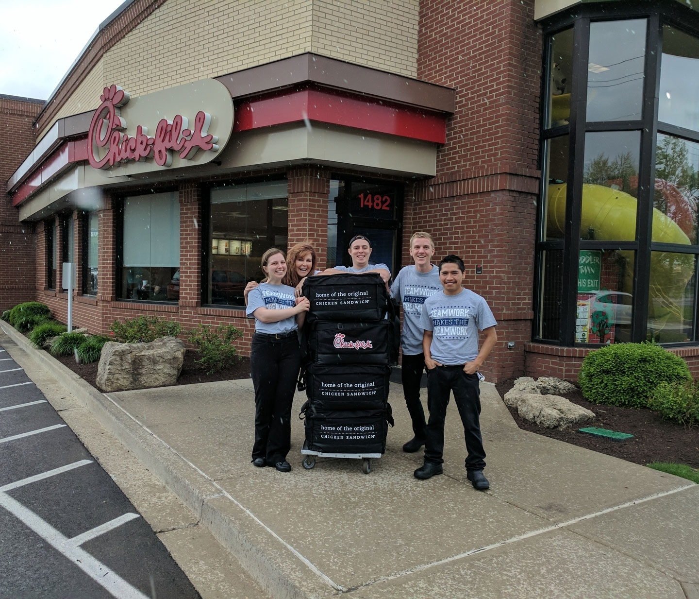 Restaurant Team Gives Back | Chick-Fil-A with regard to Does Chick Fil A Have A Wall Calendar