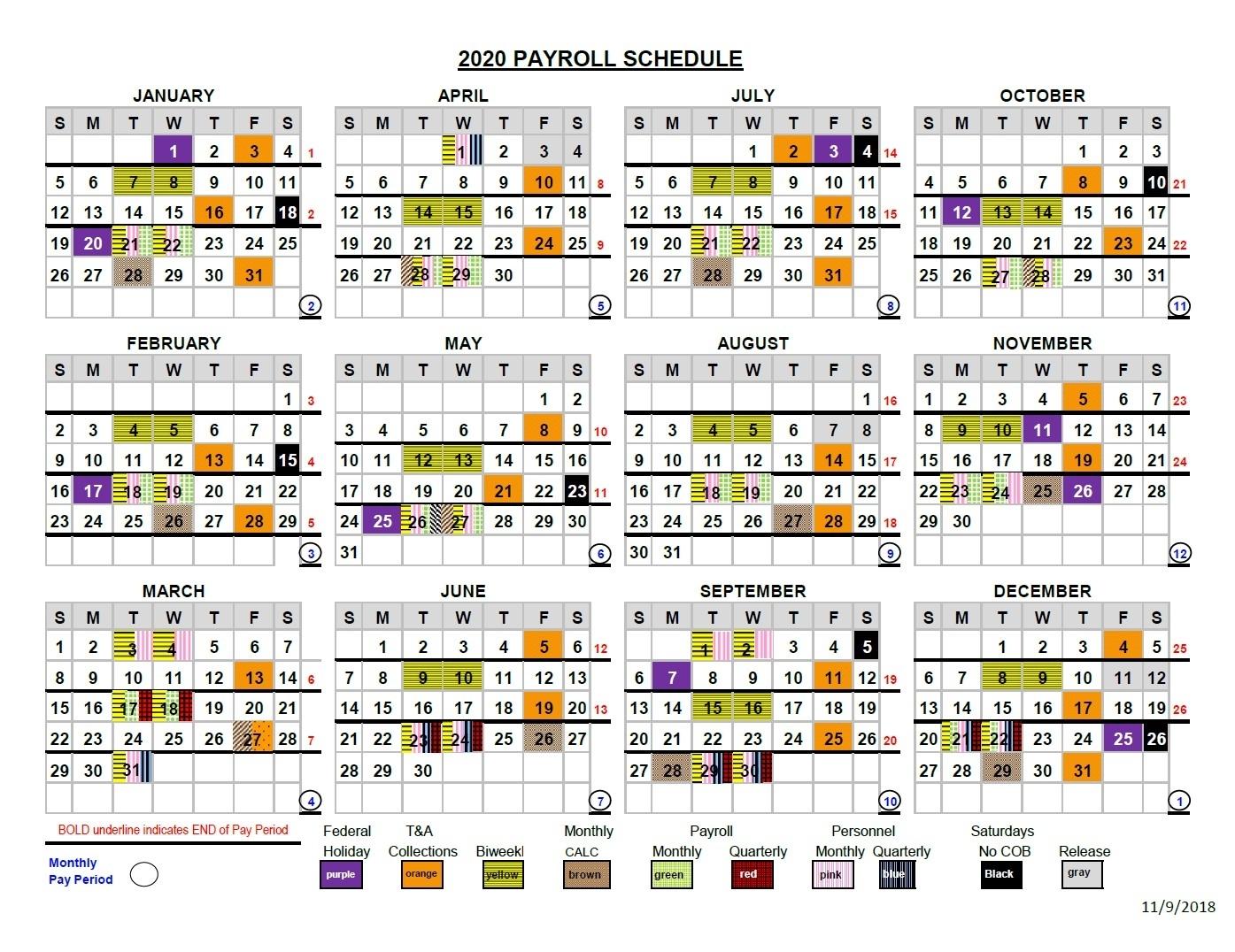 Semi Monthly Payroll Calendar 2021 Canada | Payroll Calendar