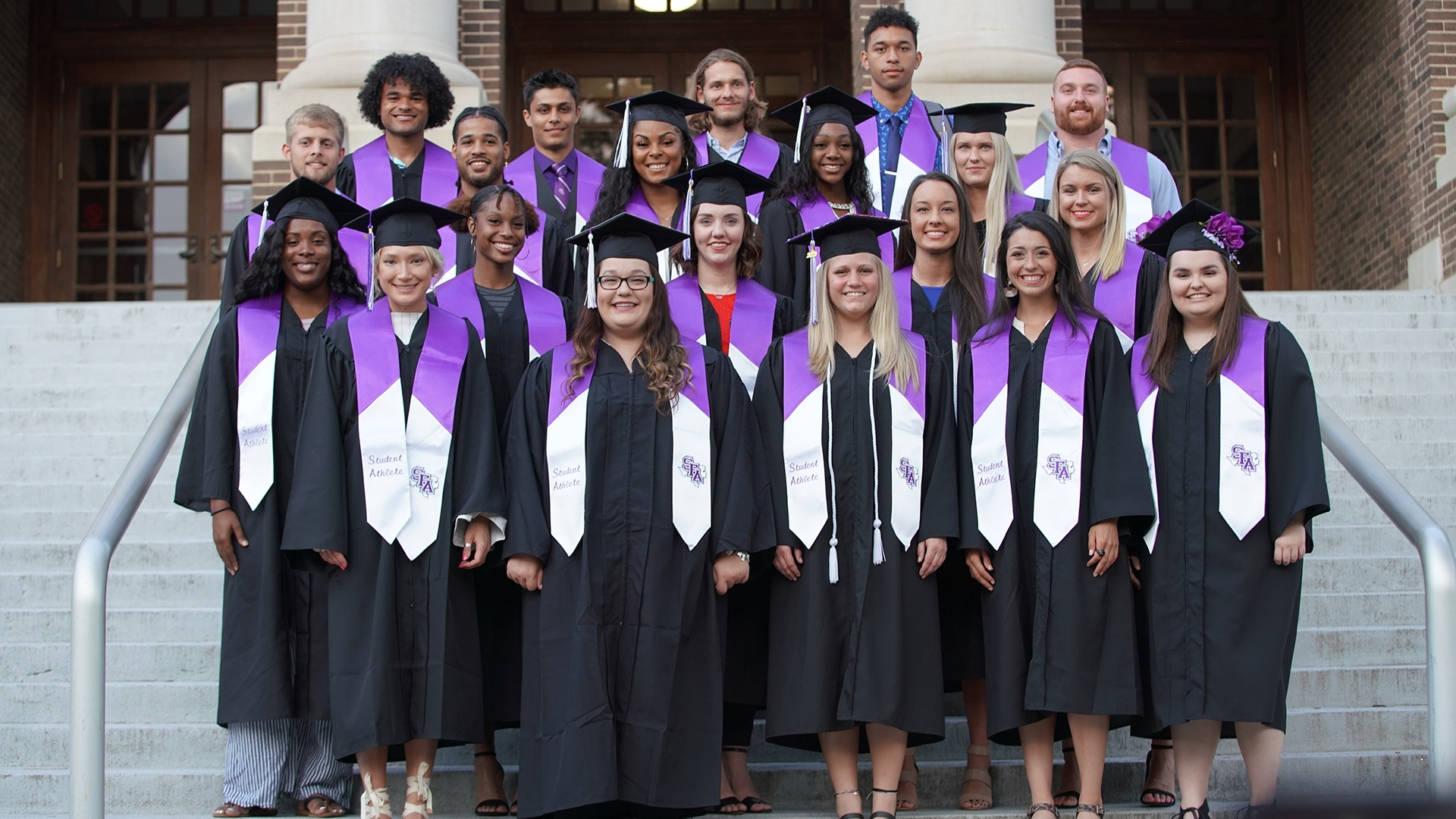 Sfa Student-Athletes Receive Degrees In Spring 2019 for Stephen F Austin Spring 2020