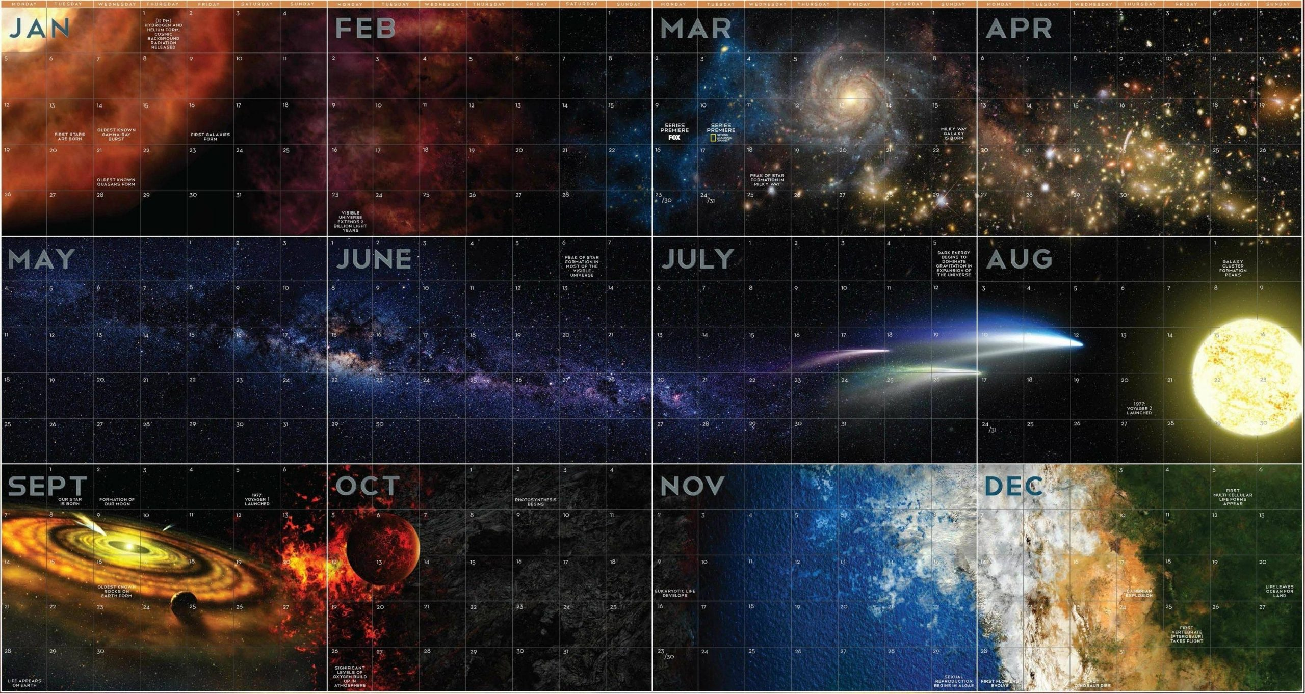 Space Calendar 2017: It'S Gonna Be Exciting - Out Of The Box