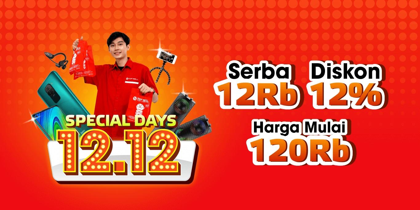 Special Days 12.12 | Topsellbelanja - Murah Itu Pasti