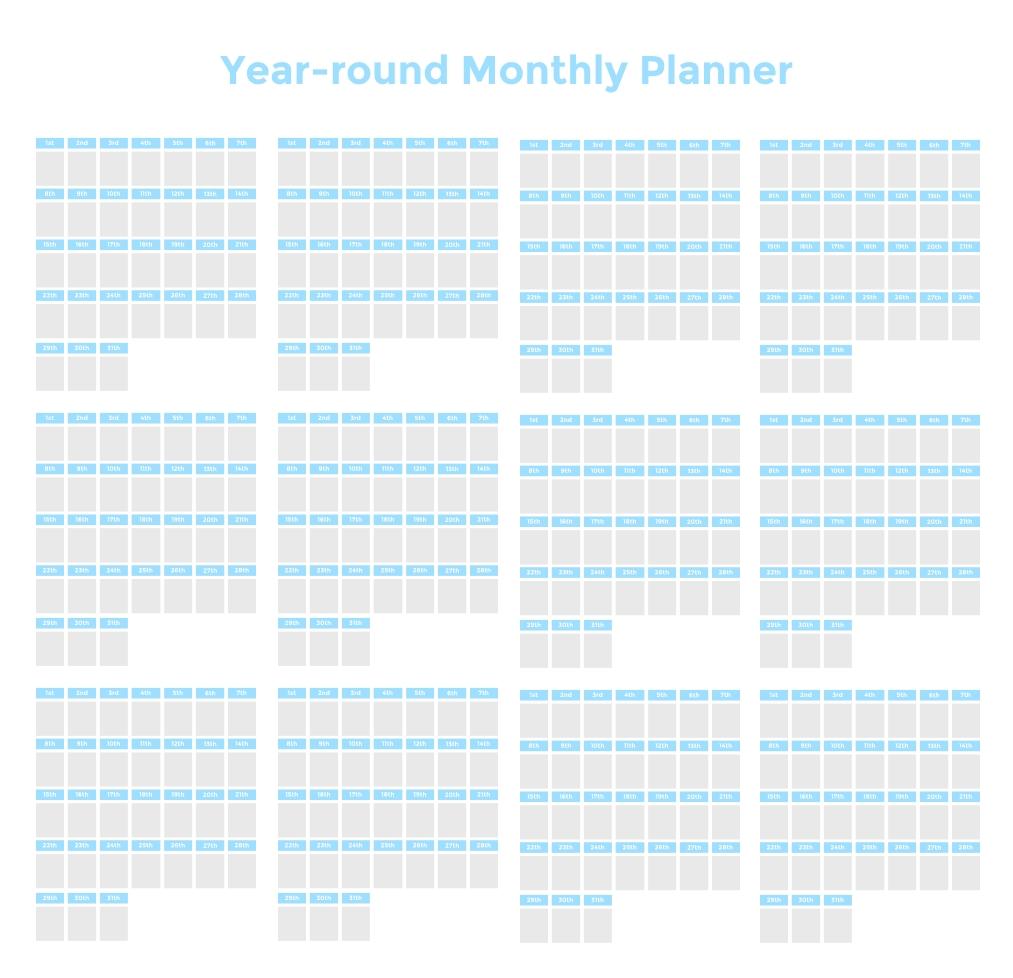 Time Blocking Planner (+ 9 Free Time Blocking Templates)