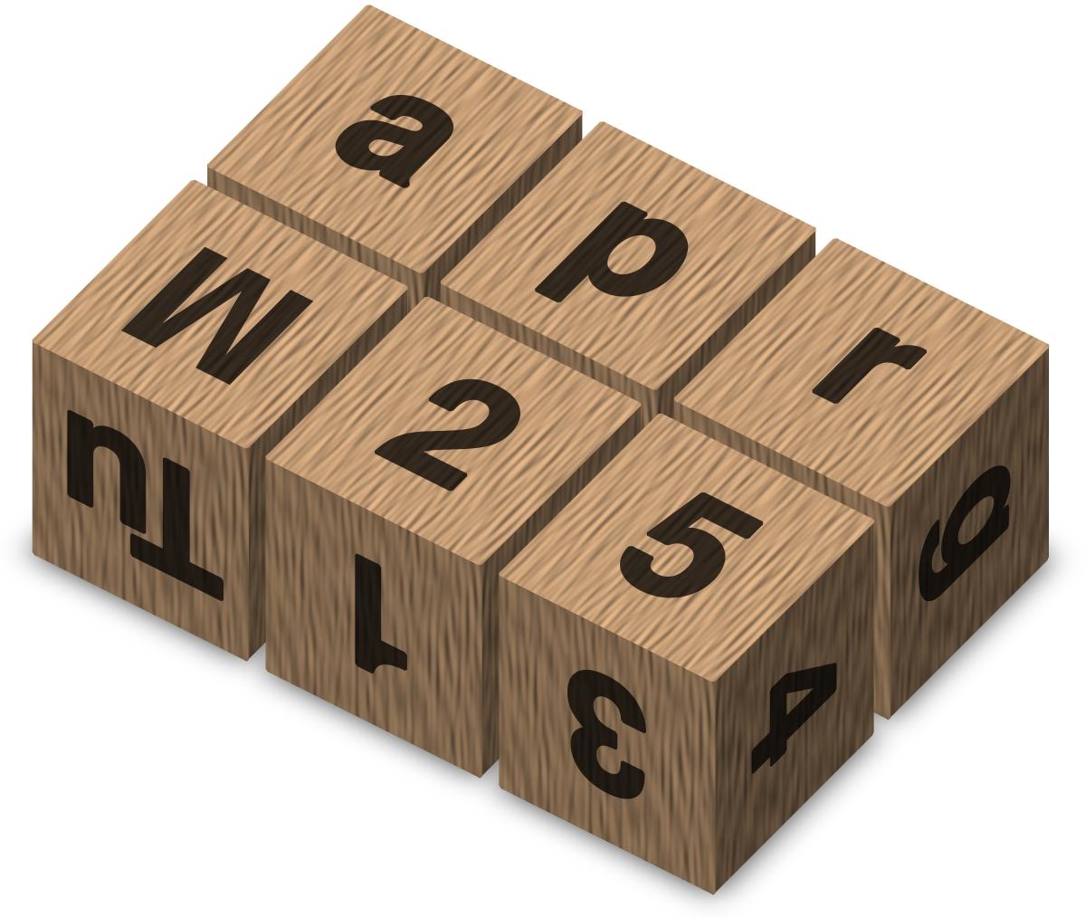 Two-Cube Calendar - Wikipedia