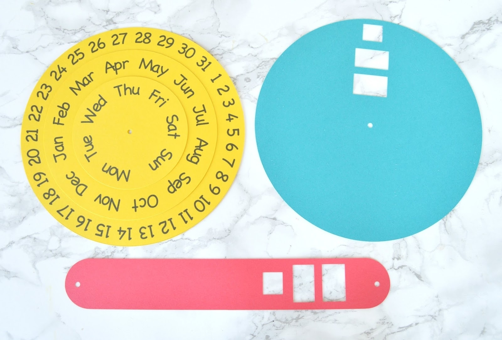 Vikalpah: Diy Round Perpetual Calendar With Free Printable in Printable Template For Perpetual Calendar