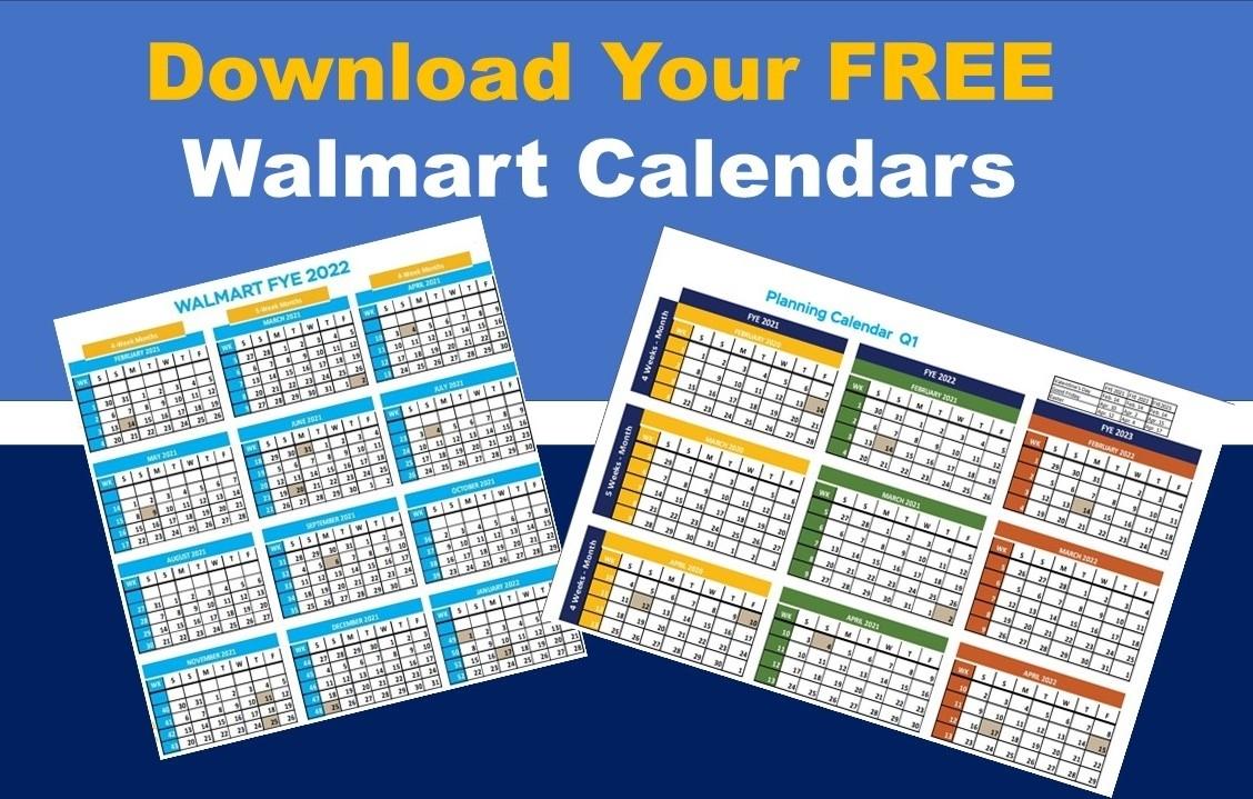 Walmart Fiscal Year Calendar: Fye 2022 Free Download