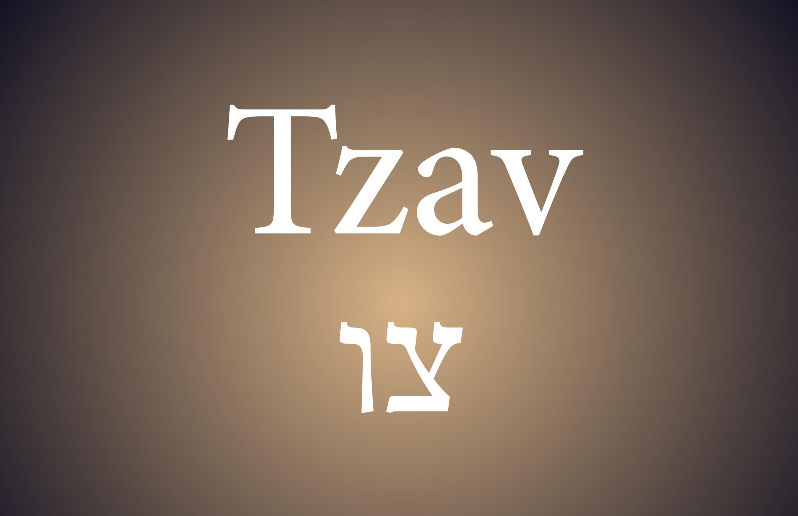 Weekly Parsha: Tzav in Parasha In 2020 In Order