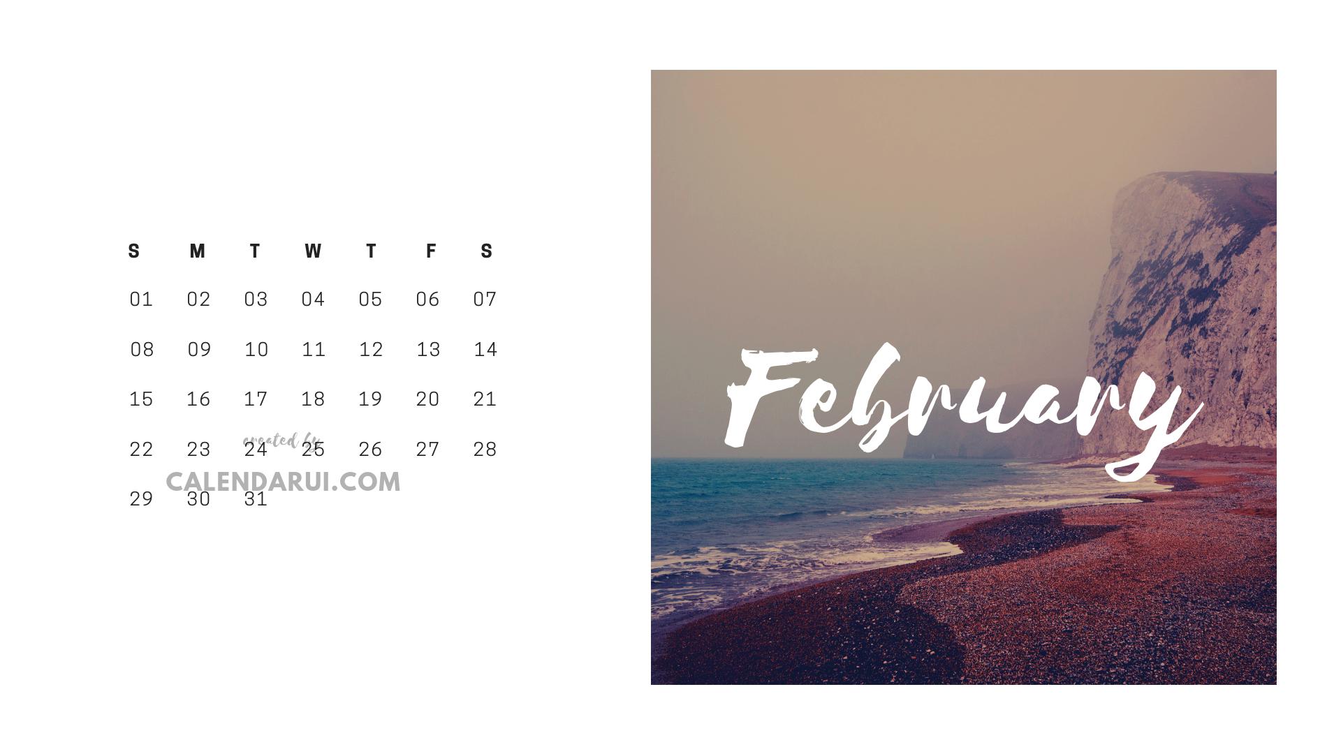 2 February Mini Calendar Template | Mini Calendars