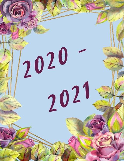 2020-2021 Financial Year Diary Planner: Calendars