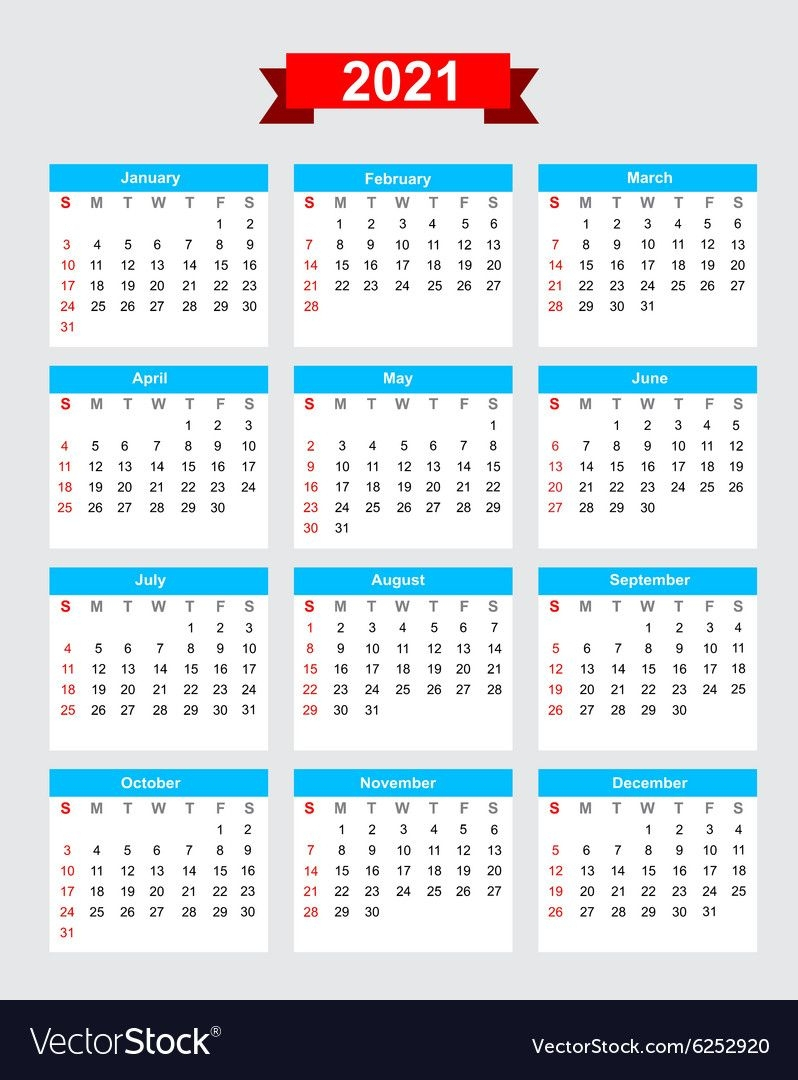 2021 6 Month Calendar Staring On Monday - Example Calendar