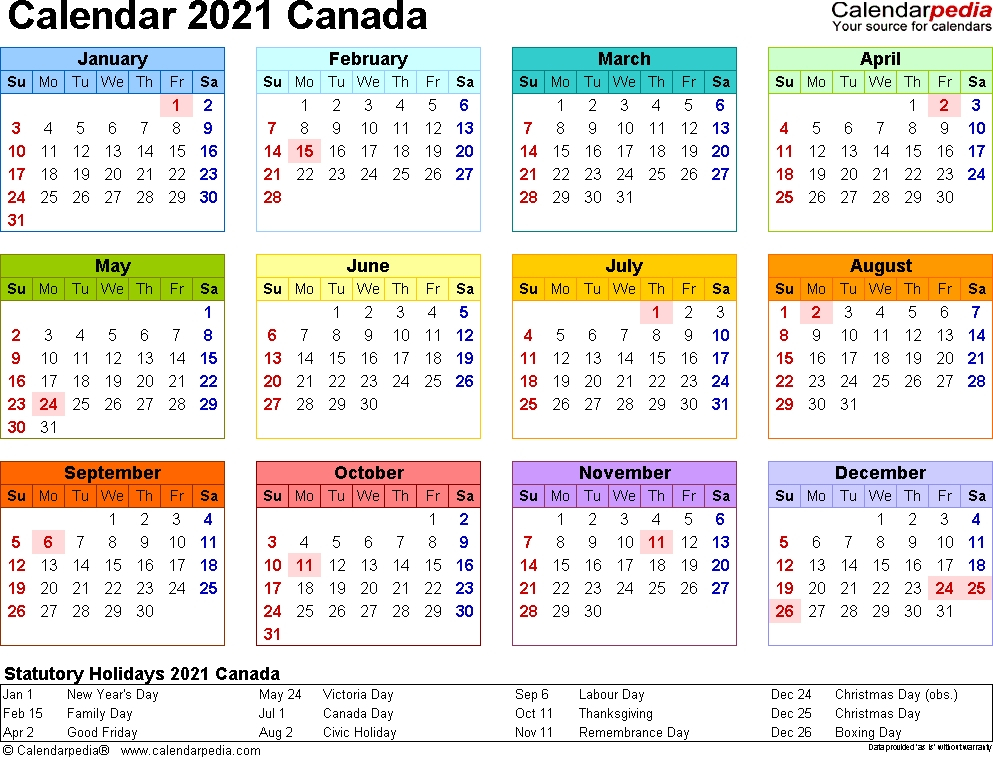 2021 Calendar With Week Numbers Excel Full | Calvert Giving