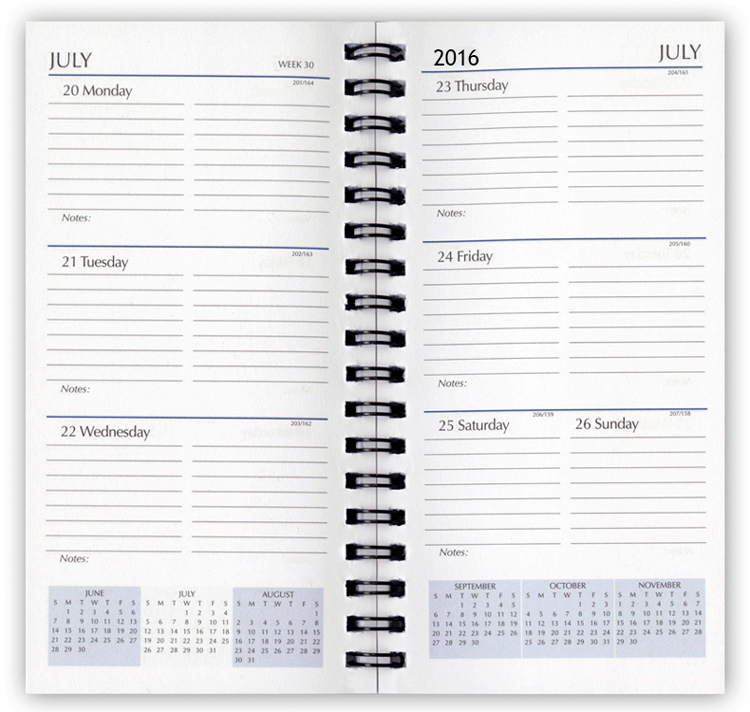 2021 Planner Refills, Weekly Planner Refill Inserts