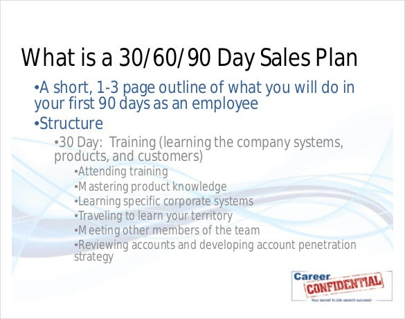 22+ 30 60 90 Day Action Plan Templates - Free Pdf, Word