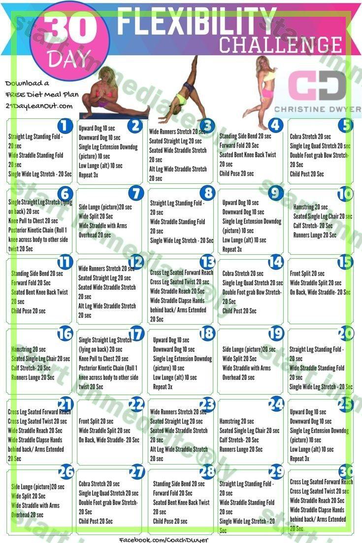 30-Day Flexibility Challenge! | Flexibility Challenge, 30