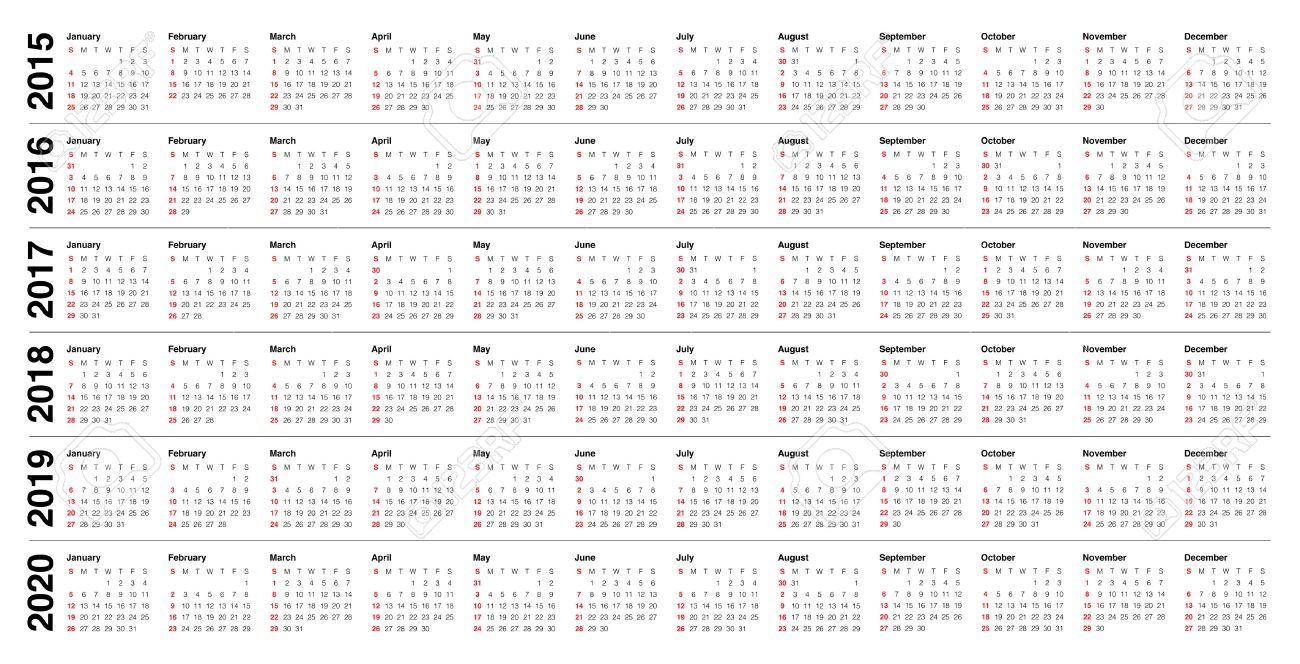 4-4-5 Calendar 2020 - Calendar Printable Free