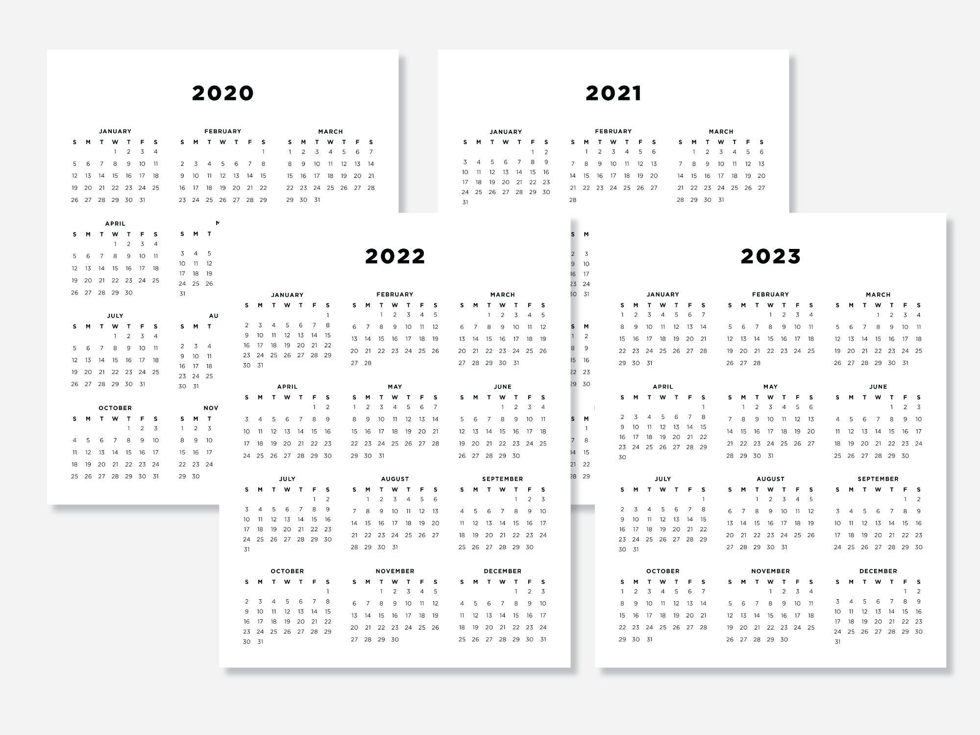 8.5 X 11 Calendar Print | Calendar Template Printable