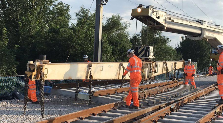 Acton Grange Upgrade: In Numbers - Network Rail