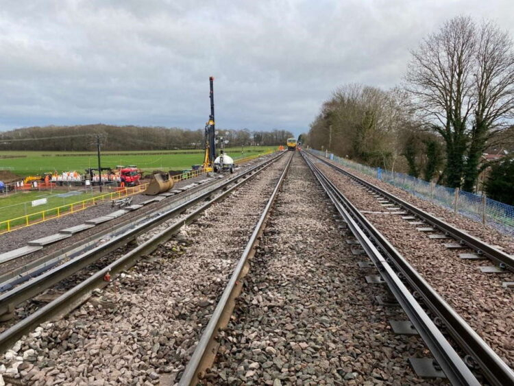 Aldershot To Guildford Railway Line Reopens Following 40