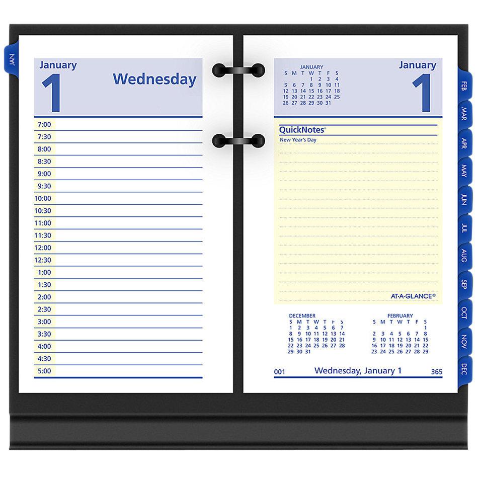 """At-A-Glance E51750 Quicknotes 3 1/2"""" X 6"""" 2021 Desk"""