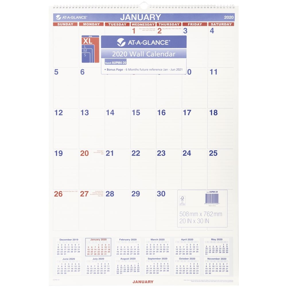 At A Glance Monthly Calendar Printable | Example Calendar