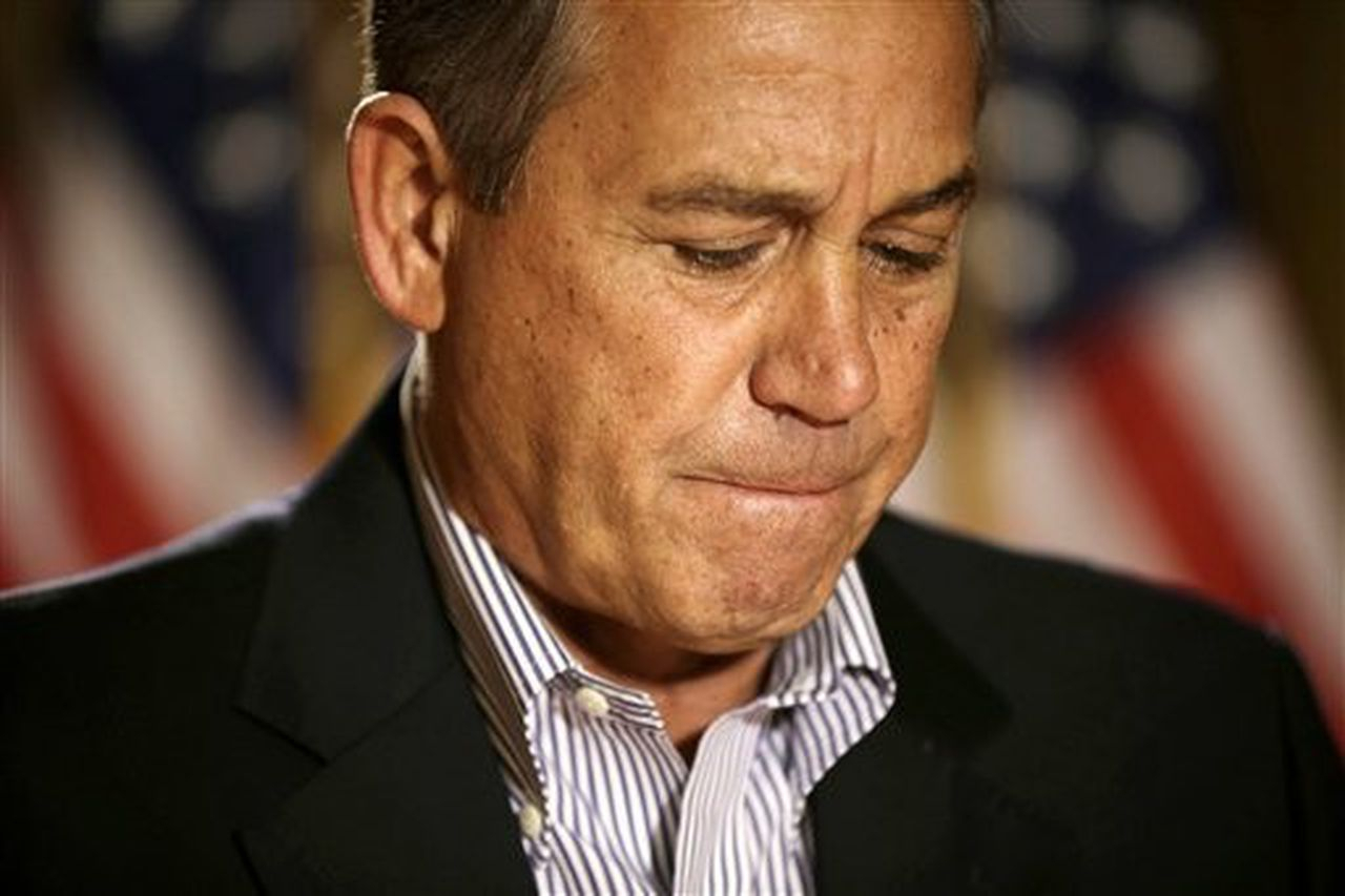 Boehner Says No Progress This Week In 'Fiscal Cliff' Talks