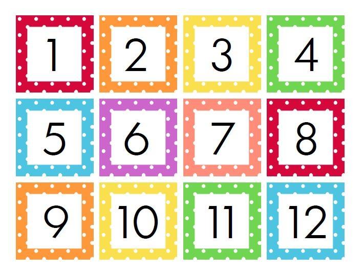 Calendar Numbers 1-31 Printable :-Free Calendar Template