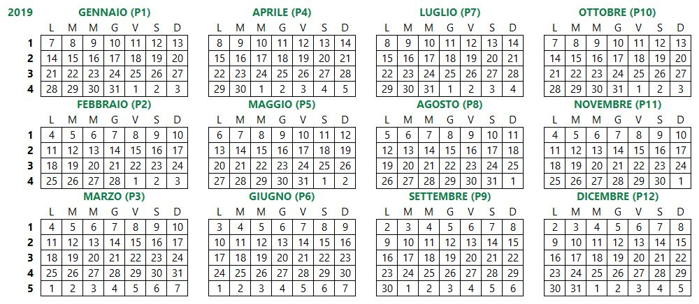 Calendario 4-4-5 - Quaero Solution