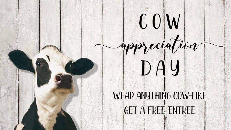 Cow Appreciation Day 2019 - Travelers Rest Here