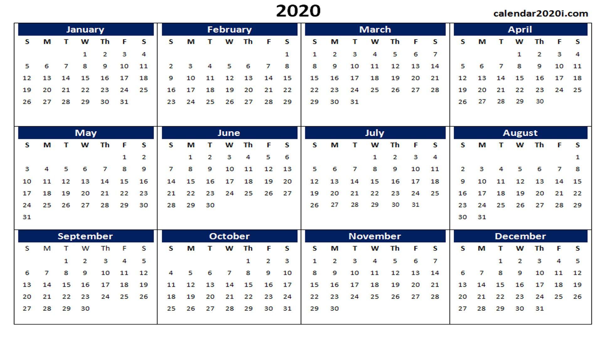 Календарь 2020 С Номерами Недель Скачать - Twin Monica