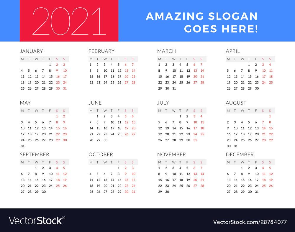 December 2021 Calendar Start On Monday   Calendar 2021