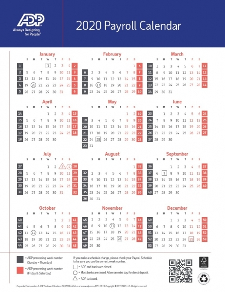 End Of Federal Pay Periods 2020 | Printable Calendar