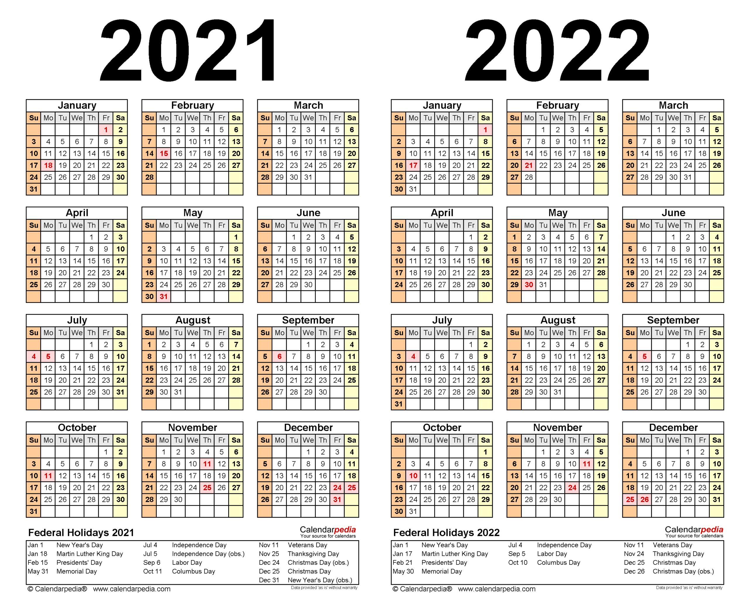 Excel Calendar 2021 With Week Numbers   Calendar