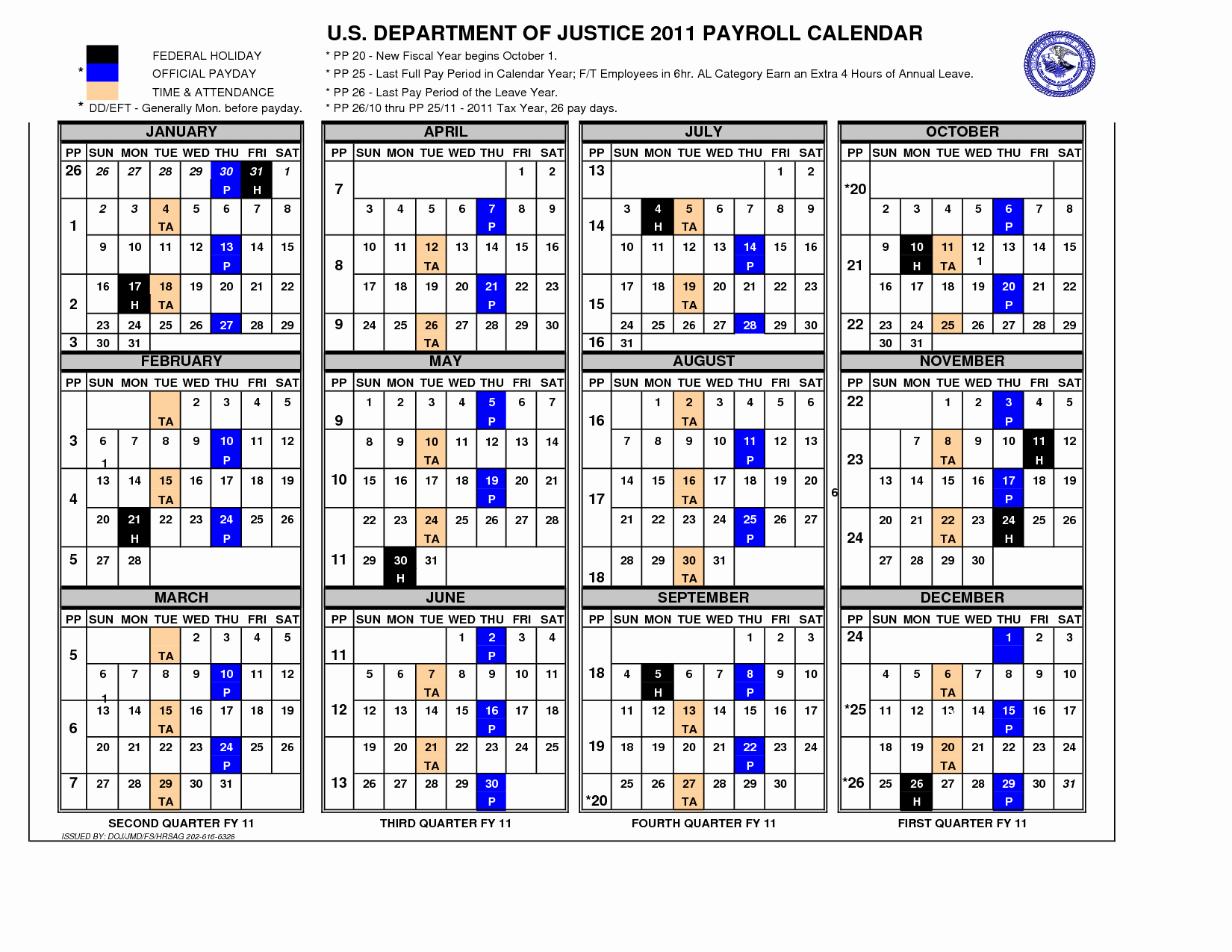 Federal Employee Pay Period Calendar 2020 | Free Printable Calendar