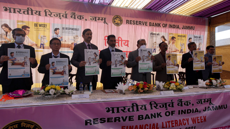 Financial Literacy Week For J&K, Ladakh Inaugurated