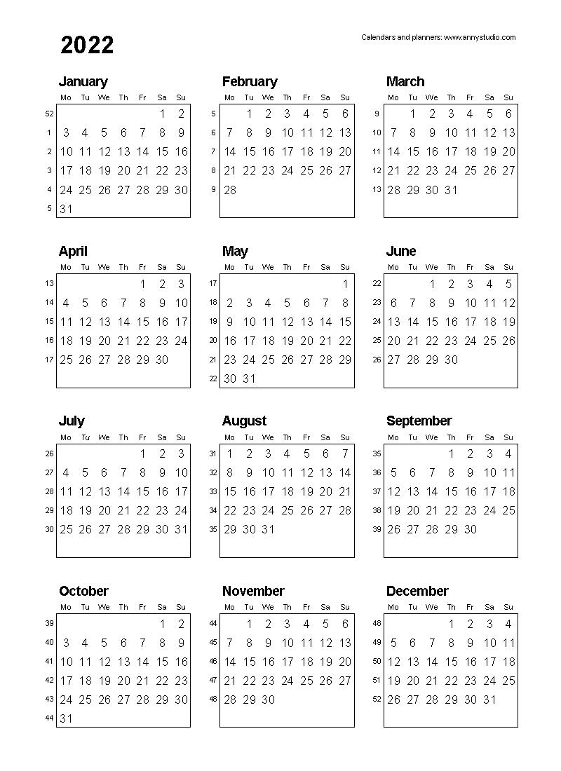 Financial Year Week Numbers 2020 - Calendar Inspiration Design
