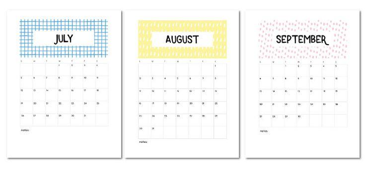 Free Printable 2020-2021 Calendar. — Gathering Beauty