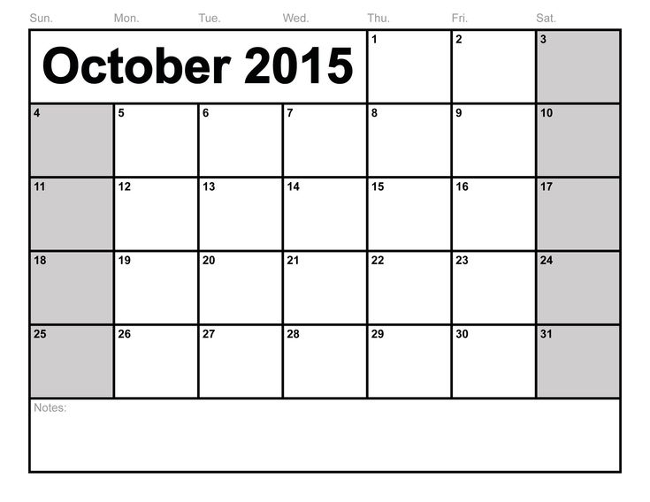 Free Printable Blank Calendars - Google Search | Editable