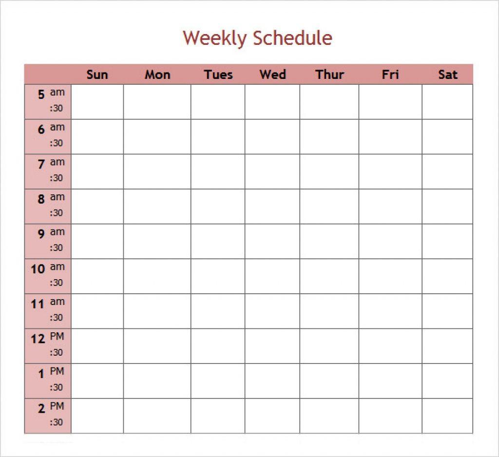 Free Printable Calendar 5 Day Week | Calendar Printables