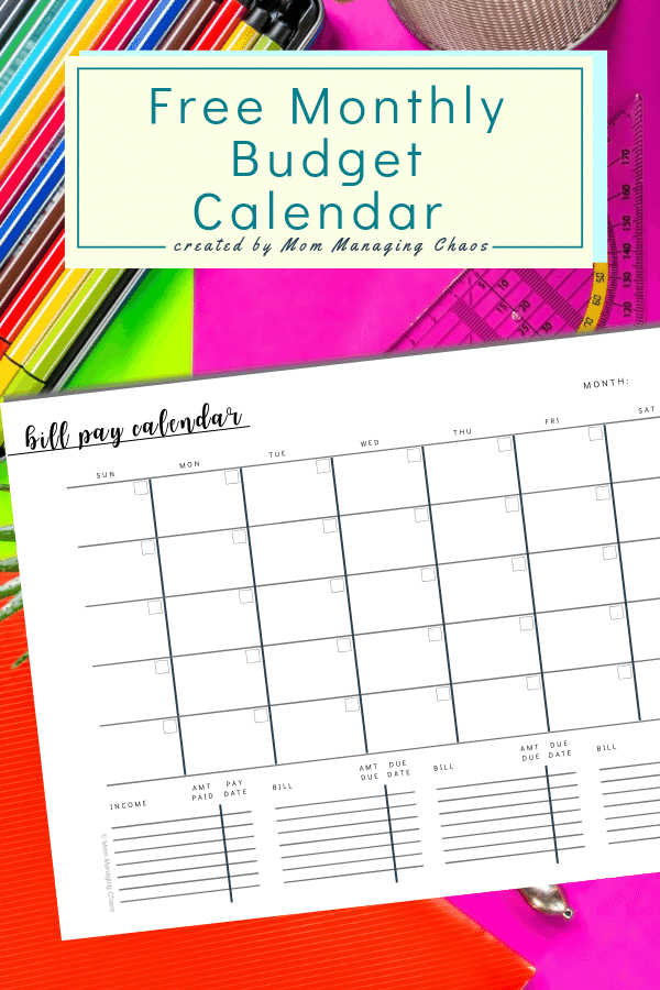 Free Printable Monthly Bill Payment Log | A Bills To Pay