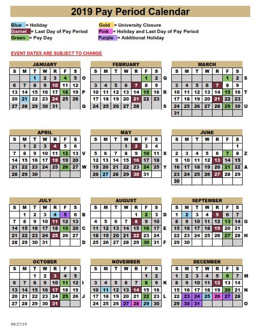 Fsu Pay Period Calendar 2020   2020 & 2021 Pay Periods
