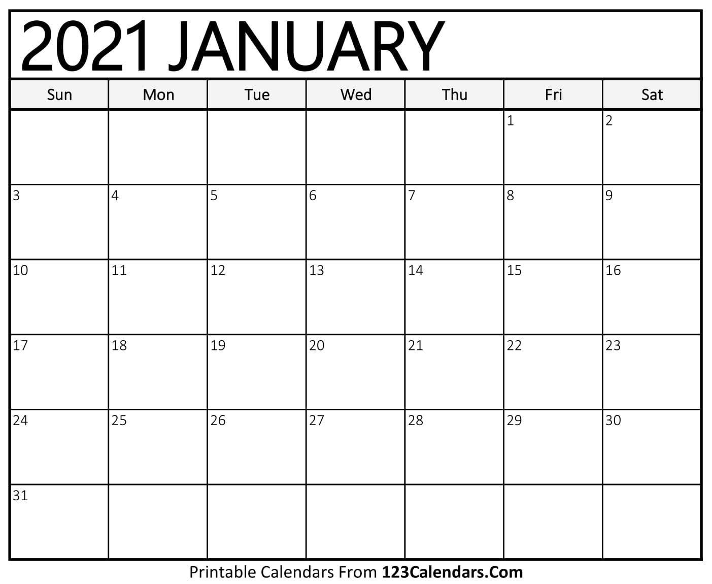 Google Free Calendars 2021 | Month Calendar Printable