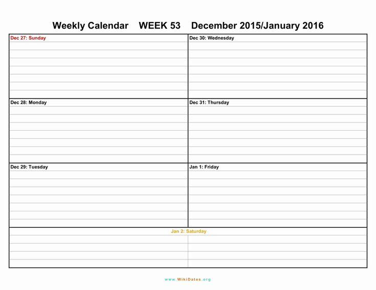 Incredible Free 6 Week Blank Calendar In 2020   Blank