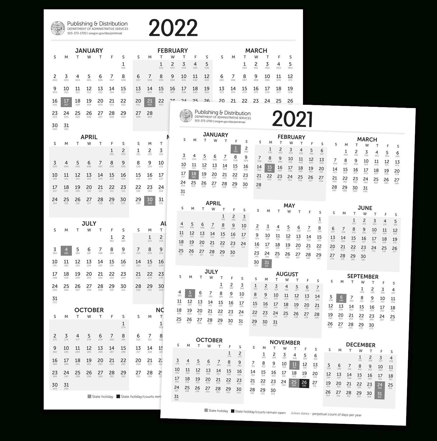 Julian Calendar For Leap Year 2021 | Printable Calendar