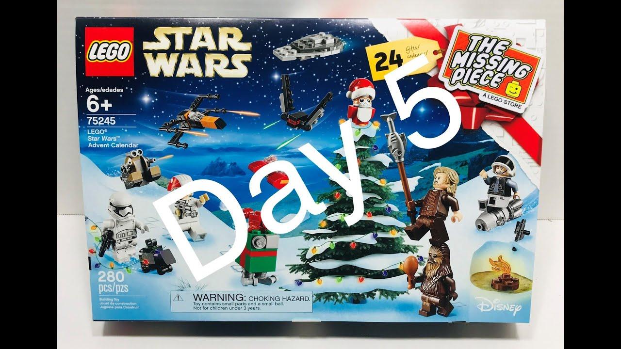 Lego Star Wars 2019 Advent Calendar Day 5 - Youtube