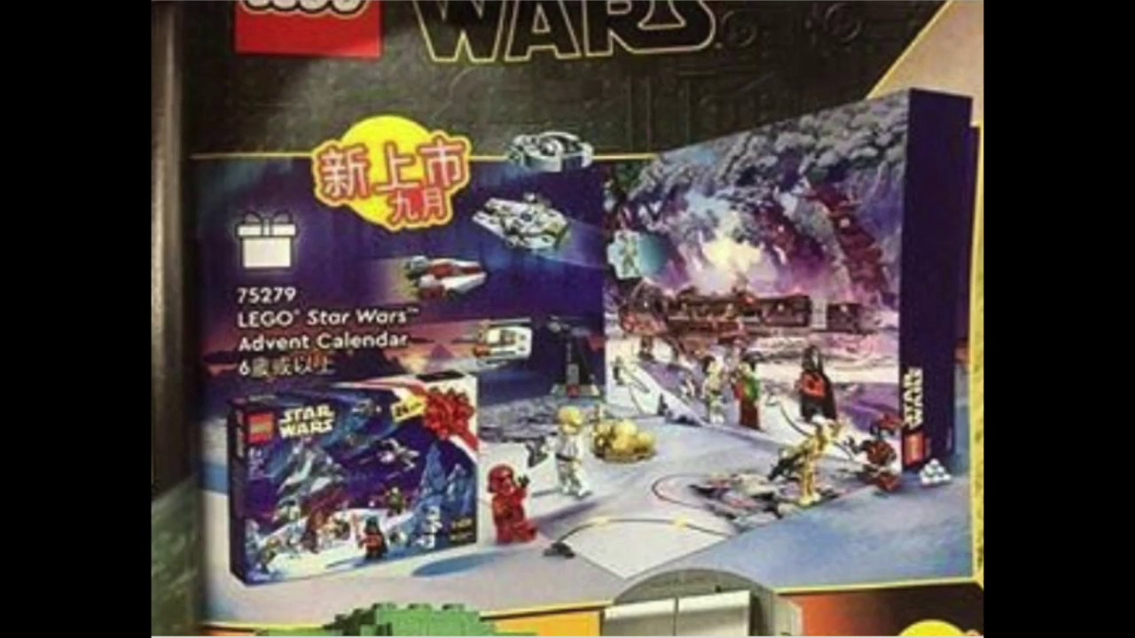 Lego Star Wars 2020 Advent Calendar Leaked - Youtube