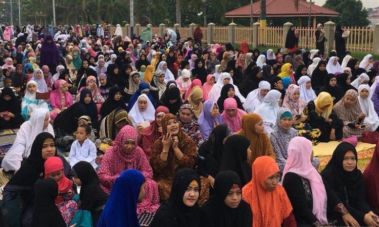 Look: Filipino-Muslims Celebrate End Of Ramadan